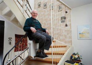 Hoe lang duurt de montage van traplift?